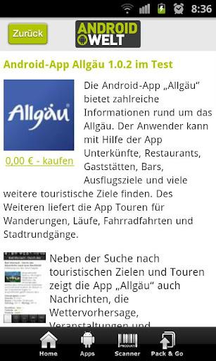 【免費新聞App】AndroidWelt Online-APP點子