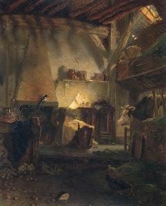 RIJKS: August Allebé: painting 1867