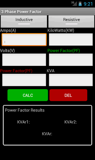 3 Phase Calc