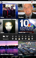 Screenshot of WJAR/NBC10