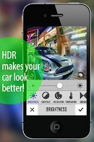 Screenshot of HDR HQ