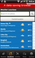 Screenshot of PH Weather