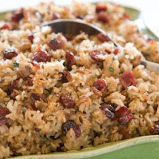Wild Rice, Dried Fruit and Toasted Hazelnut Stuffing
