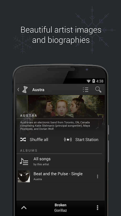 doubleTwist Music Player, Sync Screenshot 2