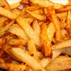 Zesty Oven Baked Fries