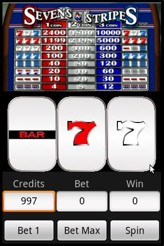 Slots : Sevens and Stripes