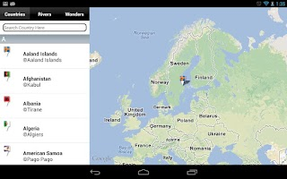 Screenshot of World Map Atlas 2014 FREE