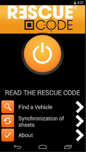 RescueCode - screenshot