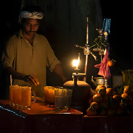Orange Juice Seller by Abdul Rehman - People Street & Candids ( pakistan, cholistan, punjab, desert, canon 70d, chana peer )
