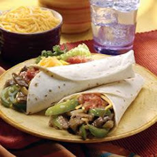 Beefy Fajitas with a Twist