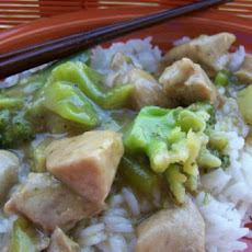 Pork and Broccoli Oriental