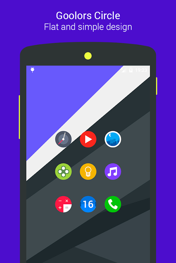 Goolors Circle - icon pack Screenshot 16