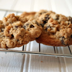 Crisp Rice Chocolate Chip Cookies