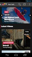Screenshot of Red Bull TV