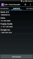 Screenshot of Call + Voice Recorder Free