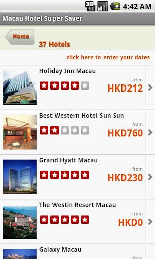 Macau Hotel Super Saver