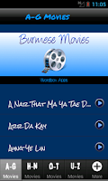 Screenshot of Burmese Movies HD