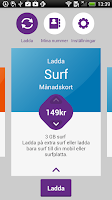 Screenshot of Telia Ladda Refill