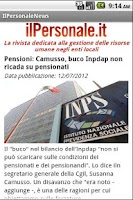 Screenshot of IlPersonale News