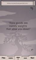 Screenshot of Tao Quotes Plus