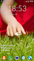 Screenshot of LG Optimus Lockscreen