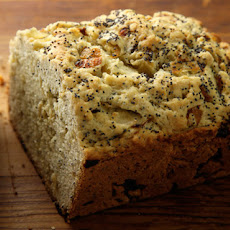 Onion and Poppy Seed Quick Bread  Recipe