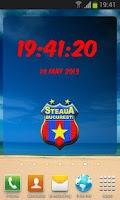 Screenshot of Steaua București Digital Clock