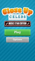 Screenshot of Close Up Celebrity Music Stars