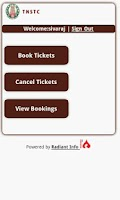 Screenshot of SETC eTicket