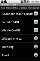 Screenshot of Voice-Answer FULL