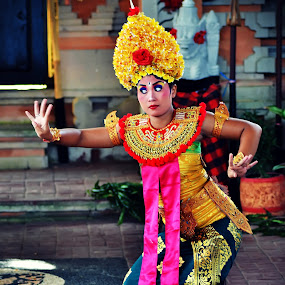 Bali Dance  by Teguh Gogo - People Musicians & Entertainers