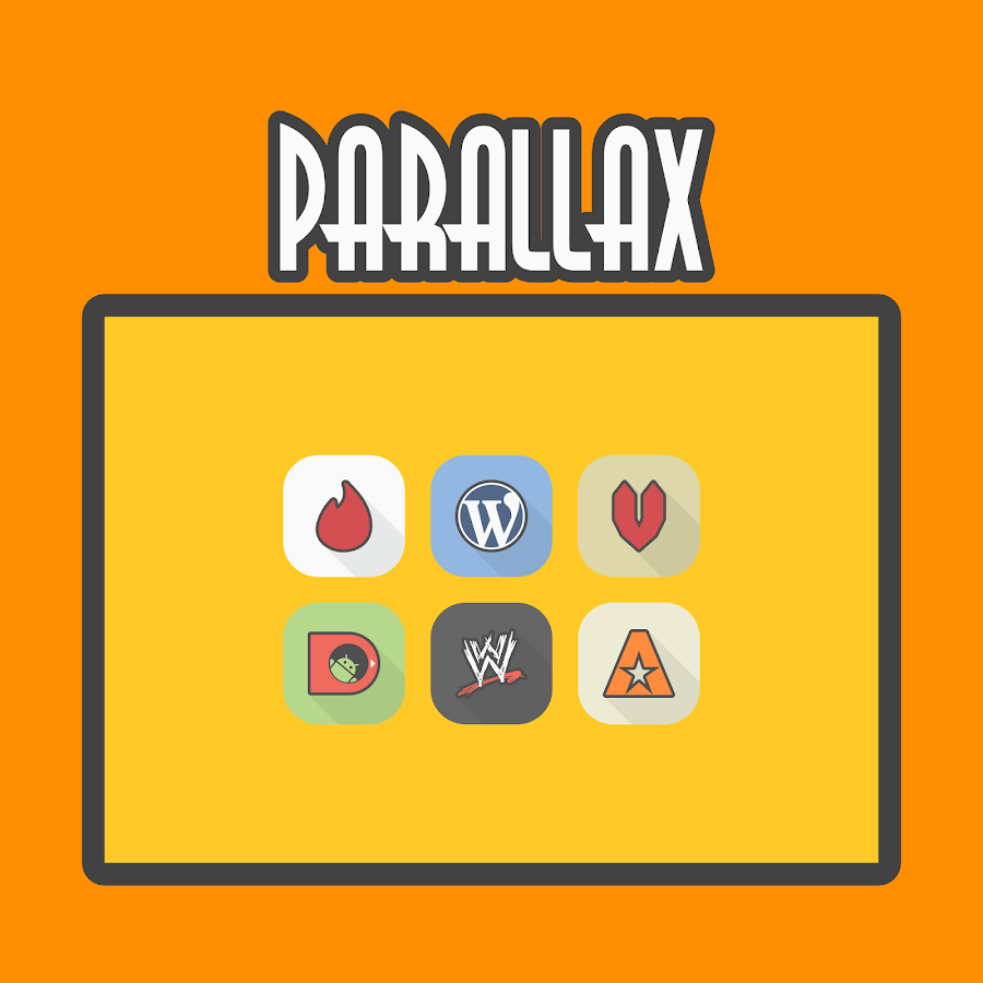 Parallax - Icon Pack Screenshot 8