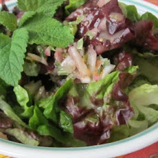 Lemon Balm Vinaigrette