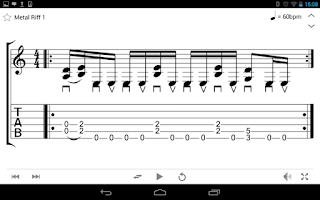 Screenshot of Guitar mageddon Pro