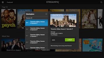 Screenshot of Streampix