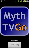 Screenshot of MythTV Go
