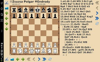 Screenshot of chess tactics and strategy