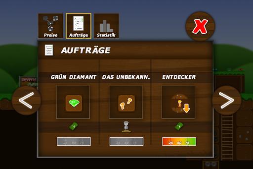 Treasure Miner - a mining game - screenshot