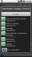 Screenshot of Parking + telefoni, Crna Gora