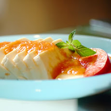 Delicate Tofu in Apricot-Honey Sauce