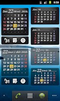 Screenshot of S2 Calendar Widget