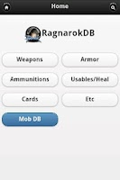 Screenshot of Ragnarok Online Database