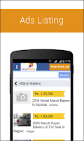 Screenshot of Clickindia Free Classifieds