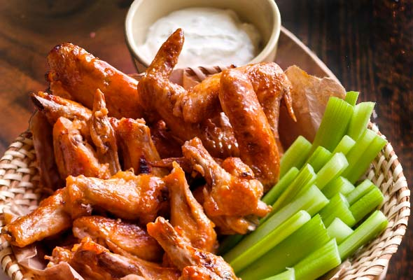Broiled Buffalo Wings Recipe