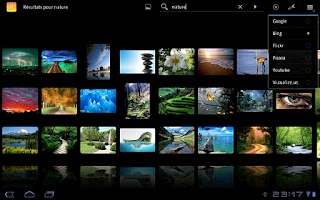 Screenshot of DroidIris+ : Image Search