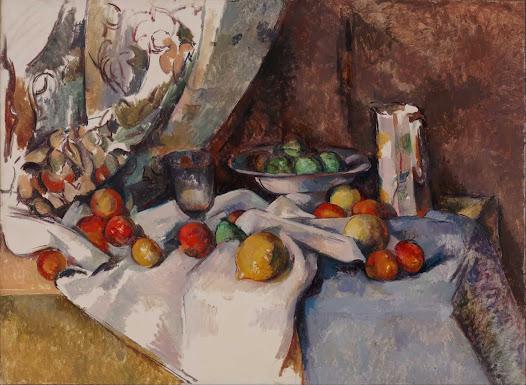 Cézanne, Natura morta con mele