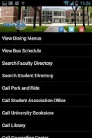 Screenshot of SUNY Fredonia (Campus Info)