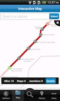 Screenshot of Dubai Metro