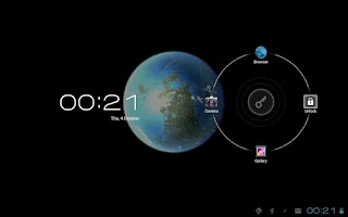 Screenshot of Moon Terra 3D Live Wallpaper