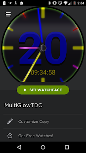 GlowTDC - screenshot